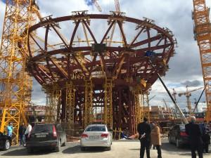Expo-Zentrum im Werden