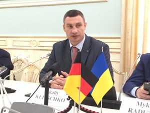 Vitalyi Klitschko, Bürgermeister von Kiew