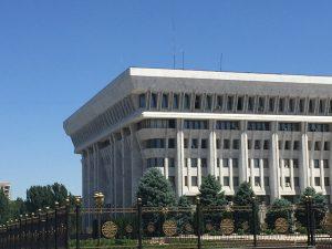Sitz des Präsidenten und der Regierung in Bischkek