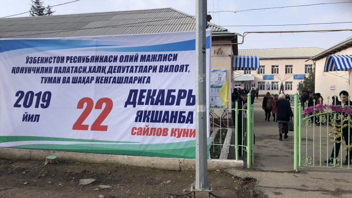 IMG_7816 - Wahlankündigung vor einer Schule außerhalb der Hauptstadt Taschkent