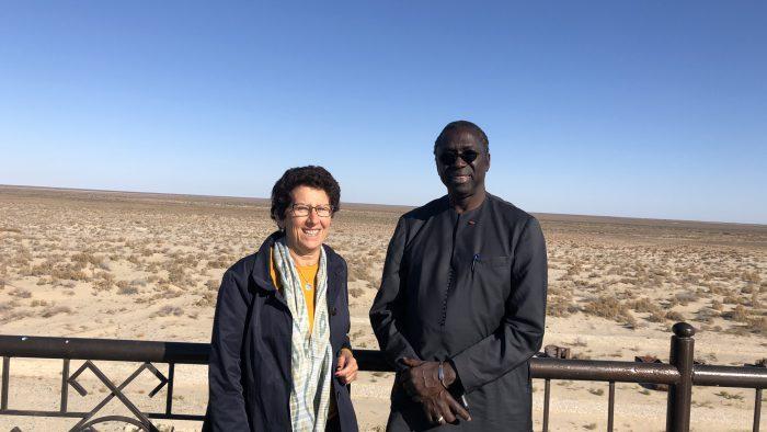 89A2DF3A-6E29-42D0-82F0-4A7F1C0163E3 - Abdoulaye Mar Deye, UN Assistant General, Special Advisor to the UNDP, in Vertretung von Antonio Guterres, der die Region im Juni besucht hat.