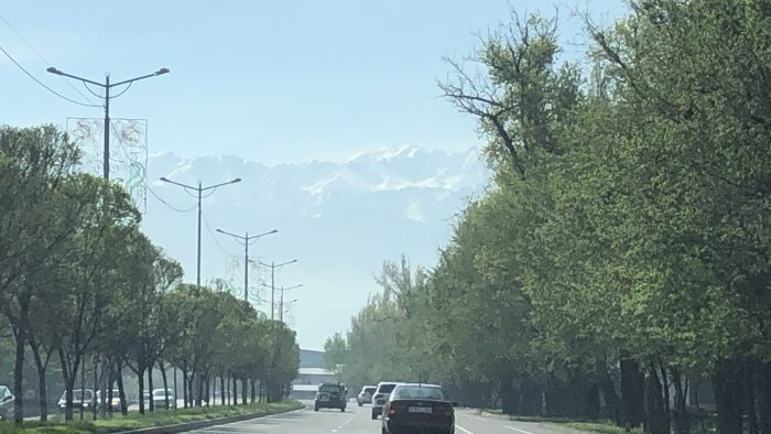 IMG_3407 - Driving out of the city. Almaty, Kazakhstan